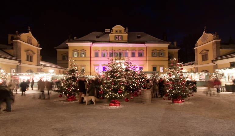 Salzburg Christmas Market.Tradtion And Like A Dream Christkindl Markets