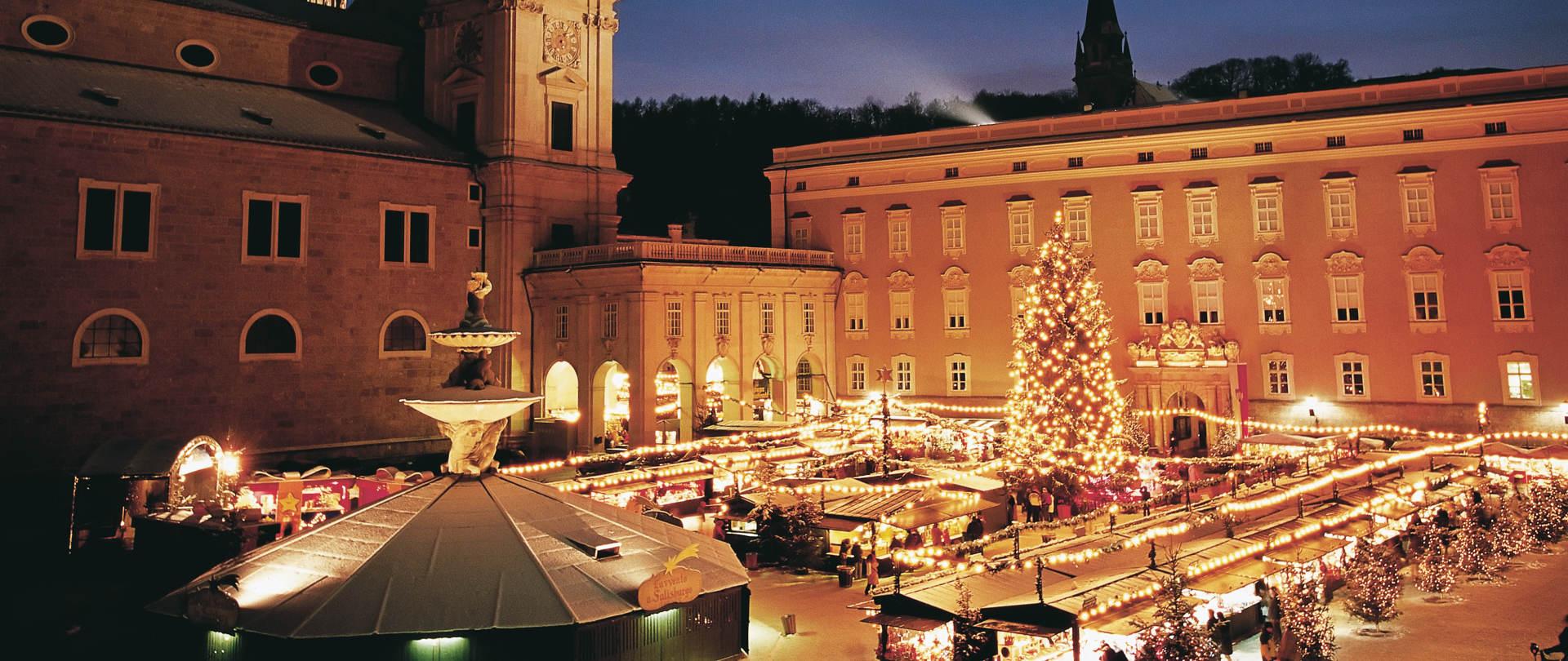 Salzburg Christmas Market.Christmas In Salzburg